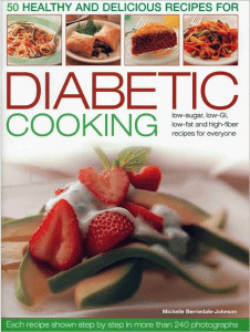 Diabetic cooking to help keep your blood sugar stable.